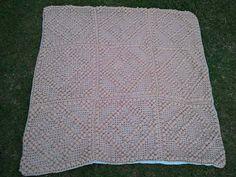 Crochet  Blanket  by Eklektikat on Etsy, $45.00