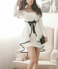 Western Look, Fashion Beauty, Womens Fashion, Western Dresses, Black N White, Casual Looks, Korean Fashion, Creations, Fashion Dresses