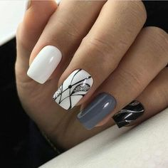 most popular color mixing nail art - Page 64 of 105 - Inspiration Diary Gorgeous Nails, Love Nails, Pretty Nails, My Nails, Pink Nail Art, Pink Nails, Neon Nails, Yellow Nails, Stylish Nails