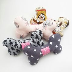 Made by lolidogs www.lolidogs.com #dog #bone #toy #diy #handmade #bonetoy