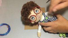 Raggy Dolls, Yarn Dolls, Felt Dolls, Fabric Dolls, Crochet Dolls, Crochet Fairy, Primitive Doll Patterns, Doll Patterns Free, Doll Crafts