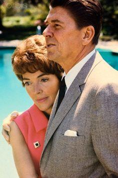 Nancy and Ronald Reagan, 1966