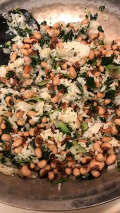 Not just for New Year's Hoppin' John makes for a delicious meal any day! Super quick and easy enjoy this taste of the South today! Bean Recipes, Pork Recipes, Cooking Recipes, Healthy Recipes, Picnic Recipes, Cooking Tips, New Years Day Dinner, New Year Day Food, Quick Meals To Make