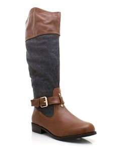 buckled riding boots $30.80