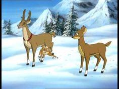 Rudolf sob s červeným nosom fonkey Giraffe, Youtube, Moose Art, Animation, Cartoon, Animals, Tv, Christmas, Merry Christmas