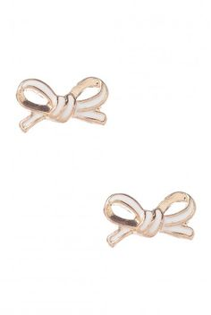 Type 1 Ring Around The Bowsies Earrings - $10.97