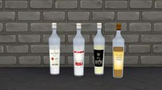 La Luna Rossa-Sims: Bottle of Alcohol • Sims 4 Downloads