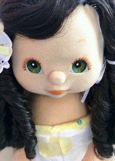 My child doll sidepart brunette- DRESSED!!!
