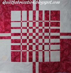 QuiltFabrication is a contemporary quilt blog featuring original ideas, designs, techniques, patterns, and book reviews.