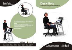 Desk Note | Carteira Escolar para Note/Netbook