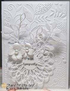CropStop: Follow up Friday! | Couture Creations Fresh & Fun Embossing Folder