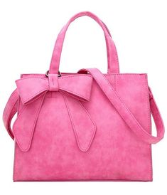 Women's Luxury Brand Pink Bow Tote Bag