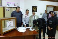 جريدة الرأي البورسعيدي ::تنتهي مساء الأربعاء : 680 طالب وطالبة يتنافسون بانتخابات الاتحادات الطلابية داخل 12 كلية بجامعة بورسعيد