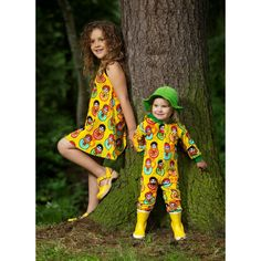 Metsola SS13: Jumpsuit, Babushka yellow (62-98cm)  www.metsola.co Kids Clothing, Kids Outfits, Jumpsuit, Spring Summer, Sun, Yellow, Clothes, Collection, Style