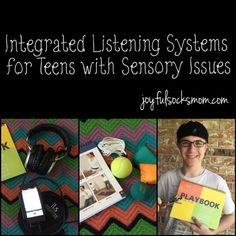 Integrated Listening Systems to Curb Sensory Processing Issues with Teens ... and much more! #homeschool #ihsnet #integratedlisteningsystems