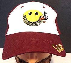 CIGARS INTERNATIONAL BURGANDY  BASEBALL CAP HAT  ADJUSTABLE #CINATION #BaseballCap