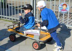 Rollenspel buiten met kleuters , thema politie, kleuteridee.nl, Kindergarten police theme
