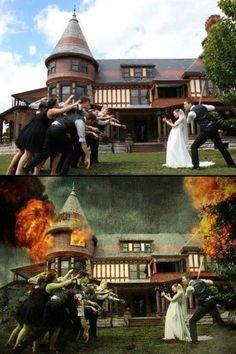 Cool Wedding Photo Idea..
