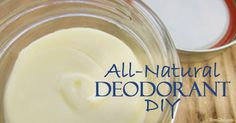 Learn how to make all-natural deodorant that fights body odor with naturally anti-bacterial and anti-fungal ingredients.