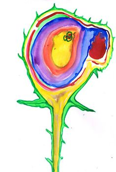 Expressive Art Therapy Activity #18 - Intuitive Watercolor Painting by Shelley Klammer