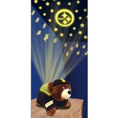 Nightlight That Turns Your Room Into A Starry Sky Instantly - NFL Pittsburgh Steelers Dream Lite Pillow Pet Order at http://amzn.com/dp/B00A8Q1XM0/?tag=trendjogja-20
