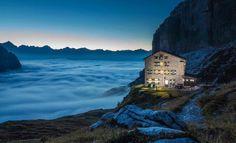 Rifugio Brentei, Dolomiti di Brenta, Trentino Alto Adige, Italia