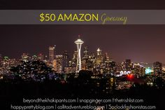 $50 Amazon Giveaway with Trish and some other great bloggers! Enter on SnapGinger.com