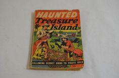 Vintage 1939 Haunted Treasure Island Big Little Book 1188-5