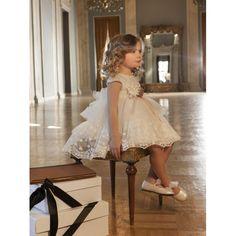 Βαπτιστικό φόρεμα Dolce Bambini οικονομικό από τούλι και Γαλλική δαντέλα, Βαπτιστικά ρούχα για κορίτσι επώνυμα, Dolce Bambini βαπτιστικά ρούχα για κορίτσι τιμές-προσφορά, Φόρεμα βάπτισης νέες παραλαβές eshop