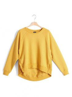 Yellow Hem A Sweatshirt$51.00