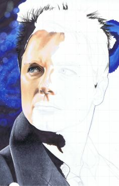 How to Color a Realistic Portrait with Copic Markers