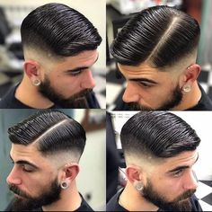 📷: ———————————————————Tag us in your pictures for a chance to get featured 🙌———————————————————Don't miss a post! Turn on post notifications ↗️———————————————————More men's hair ➡️ ➡️ ➡️ ➡️ Cool Hairstyles For Men, Classic Hairstyles, Hairstyles Haircuts, Haircuts For Men, Barber Hairstyles, Beard Haircut, Fade Haircut, Hair And Beard Styles, Short Hair Styles