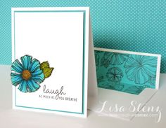 Lisa's Creative Corner: CTMH Wavy Blooms card