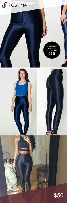 Blue disco pants Blue color* American Apparel Pants