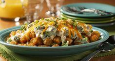 Ore-Ida - Recipes - Broccoli and 3 Cheese Totchos