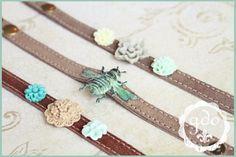 GDO Authentic suede bracelet by girlsdayout on Etsy, $25.00