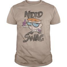 (Tshirt Fashion) Dexters Laboratory Nerd Swag at Tshirt Family Hoodies, Funny Tee Shirts