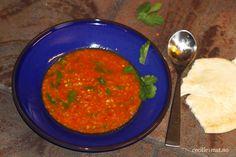 Rød-linsesuppe