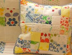 Quilt pillow-inspiration
