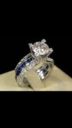 Love Sapphires & Diamonds!
