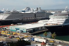 Cruise Ships Visit Port of San Diego (October 2012)