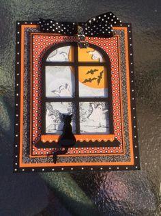 Halloween Card   Card Making   Scrapbooking   Autumn   Creative Scrapbooker Magazine #cards #Halloween #scrapbooking