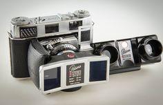 Kodak Retina IIIC Stereo Antique Cameras, Vintage Cameras, Vintage Photos, Photo Lens, 3d Photo, Stereo Camera, Camera Lens, Kodak Retina, View Master