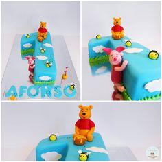 Number One Winnie The Pooh Cake
