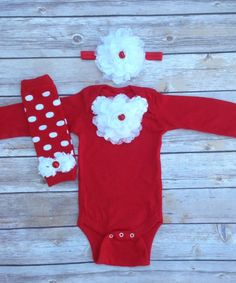 Red White Newborn Christmas Outfit, Baby Girl Christmas Outfit, Newborn Photo Prop, My 1st Christmas, Newborn hospital outfit, Baby girl by AvaMadisonBoutique on Etsy