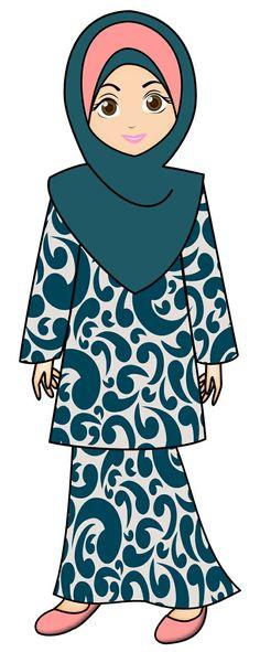Ramadan Cards, Eid Cards, Cute Characters, Cartoon Characters, Free Doodles, Doodle Girl, Islamic Cartoon, Anime Muslim, Hijab Cartoon