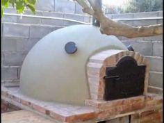 HORNO DE BARRO PASO A PASO.. ,EL MEJOR !! - YouTube Wood Oven, Wood Fired Oven, Wood Fired Pizza, Barbacoa, Brick Bbq, Clay Oven, Bread Oven, Four A Pizza, Pizza Oven Outdoor