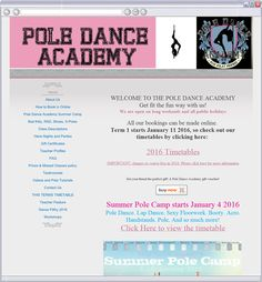 Upcoming workshops, events and news from the Pole Dance Academy.