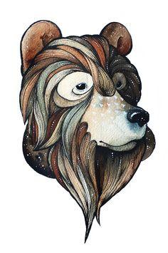 .: Furry Little Peach Illustrations