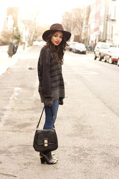 "erica lavelanet: ""big hats, big sweaters"" 